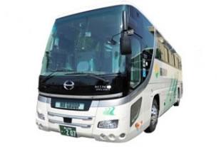 バスの所有台数・主な装備のイメージ